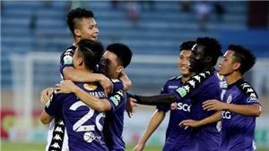 Bóng đá Việt Nam hôm nay: Đà Nẵng đấu SLNA (17h00). TPHCM so tài Hà Nội FC (19h15)