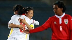 Bóng đá Việt Nam hôm nay: Đội tuyển nữ Việt Nam vs Tajikistan (20h00)