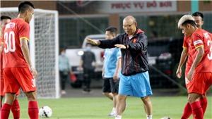Bóng đá Việt Nam hôm nay: Tuyển Việt Nam trở lại tập luyện