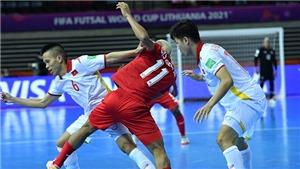 Bóng đá Việt Nam hôm nay: Futsal Việt Nam quyết đánh bại CH Séc