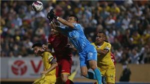 VIDEO bàn thắng Nam Định 1-0 SLNA: Bùng nổ phút bù giờ