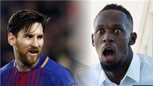 Usain Bolt: 'Tôi tài năng bẩm sinh như Messi dù là fan bự của Ronaldo'