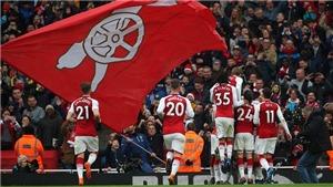 Arsenal 3-0 Stoke City: Aubameyang, Lacazette liên tiếp lập công (KT)