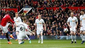 Mourinho: 'M.U đá hiệp một trận gặp Swansea hoàn hảo, Lukaku tuyệt hay'