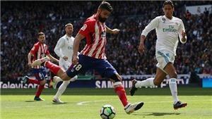 ĐIỂM NHẤN Real 1-1 Atletico: Ronaldo quá đẳng cấp. Cả đội Real giỏi tấn công. Atletico phòng ngự cừ