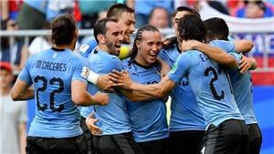 Uruguay 3-0 Nga, Saudi Arabia 2-1 Ai Cập: Suarez, Cavani tỏa sáng, Uruguay đè bẹp Nga (FT)