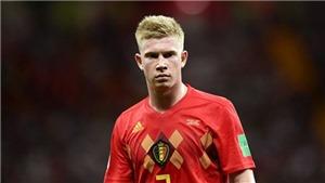 GÓC CHIẾN THUẬT: Bỉ thua chắc Brazil nếu De Bruyne không được 'giải phóng'
