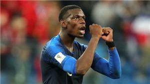 Paul Pogba: Từ kẻ bị chỉ trích ở M.U tới người hùng của nhà vô địch thế giới