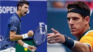 Djokovic đối đầu Del Potro: Chờ đợi gì ở chung kết US Open?