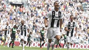Juventus 2-1 Sassuolo: Ronaldo lập cú đúp, Juve xây chắc ngôi đầu (KT)