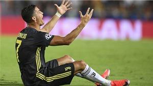Ronaldo bị truyền thông mỉa mai hay ủng hộ sau thẻ đỏ trước Valencia?