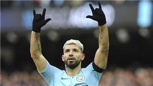 Sergio Aguero bỏ lỡ cơ hội ghi bàn mười mươi, Pep Guardiola sững sờ