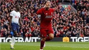 Liverpool 2-1 Tottenham: Salah lập công, Liverpool trở lại ngôi đầu bảng (FT)