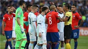 Messi: 'Tôi bị thẻ đỏ vì đã chỉ trích trọng tài và Brazil. Copa America 2019 là giải đấu thối nát'