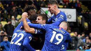 Watford 1-2 Chelsea: Abraham rực sáng, Chelsea vào top 3 giải Ngoại hạng
