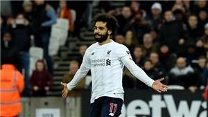 West Ham 0-2 Liverpool: Salah rực sáng, Liverpool hơn Man City 19 điểm