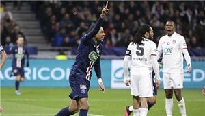 Mbappe solo thần tốc 70m để ghi bàn trong hat-trick vào lưới Lyon