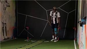 Pogba lại 'chọc tức' MU, mặc áo Juve để tập hồi phục