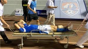 Hải Huy và những vụ gãy chân kinh hoàng trong làng bóng đá Việt
