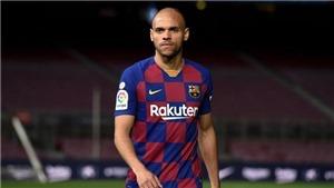 Barcelona: Braithwaite nói gì về chuyện xin mang áo số 10 của Messi?