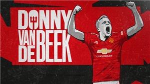 Van der Sar gửi tâm thư cho fan MU về Van de Beek