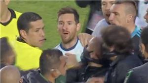 Messi tỏ thái độ miệt thị, gọi HLV Bolivia là 'gã hói'