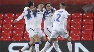 Liverpool 0-2 Atalanta: Thua ngay ở Anfield, Liverpool lỡ cơ hội giành vé sớm
