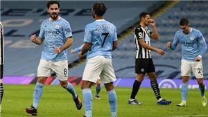 Man City 2-0 Newcastle: 'Chấp' trung phong, Man Xanh vẫn thắng dễ