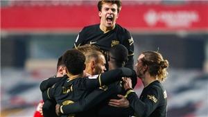 Granada 3-5 Barcelona: Griezmann, Alba cùng lập cú đúp, Barca vào bán kết cúp Nhà Vua