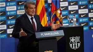Barca quyết mua Haaland: Chủ tịch Laporta đàm phán với Mino Raiola và cha Haaland
