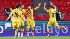 ĐIỂM NHẤN Bilbao 0-4 Barcelona: Messi lại là người hùng. Danh hiệu cứu cánh cho mùa giải