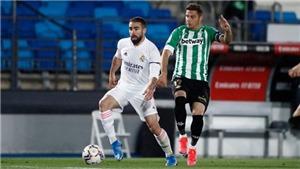 Real Madrid 0-0 Betis: Liên tiếp sảy chân, Real Madrid có nguy cơ bị Barcelona vượt mặt