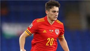 Bóng đá hôm nay 18/6: Daniel James tuyên bố Wales sẽ hạ Italy. MU sắp chốt vụ Sancho