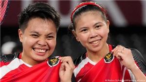Vượt qua Trung Quốc, cầu lông Indonesia giành HCV lịch sử ở Olympic Tokyo