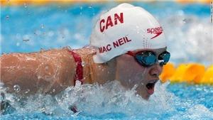 Mạng xã hội Trung Quốc 'dậy sóng' vì kình ngư Canada giành HCV Olympic Tokyo
