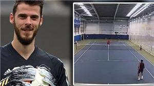MU: De Gea muốn dự giải… quần vợt Mỹ mở rộng, Andy Murray xin cùng đánh đôi