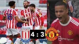 MU thua sốc Stoke City: Greenwood tiếp tục ghi bàn nhưng MU vẫn cần Ronaldo