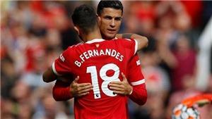 MU: Ronaldo tỏa sáng nhưng Bruno Fernandes giá trị nhất