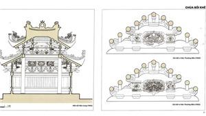Ra mắt 'sách mẫu' về bảo tồn kiến trúc chùa Việt