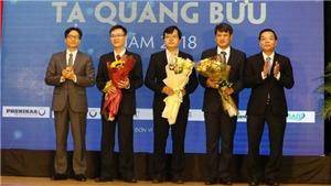 Tôn vinh ba chủ nhân giải thưởng khoa học Tạ Quang Bửu 2018.