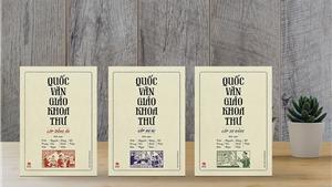 Tái bản 'Quốc văn Giáo khoa thư'  - bộ sách giáo khoa tiểu học đầu tiên trong thế kỷ XX