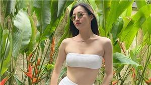 Hoa Hậu Lương Thùy Linh tung ảnh bikini nóng bỏngtại resort 5 sao