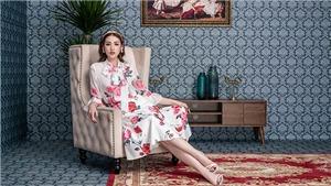 Á hậu Tú Anh thanh thoátvới BST thời trang lấycảm hứng từ hoa hồng Juliet