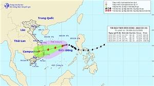 Dự báo bão số 10 gây nguy hiểm cả trên biển và trên đất liền