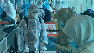 Ghi nhận thêm 1 trường hợp mắc COVID-19 nhập cảnh từ Angola về