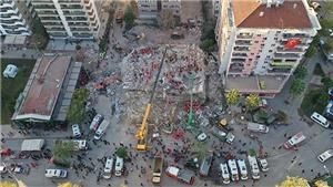 Động đất tại Thổ Nhĩ Kỳ: Số nạn nhân thiệt mạng tăng lên 76 người