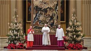 Giáo hoàng Francis gửi thông điệp Giáng sinh 2020