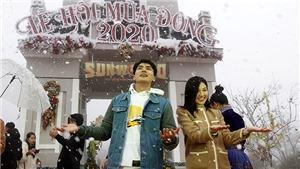 Lễ hội du lịch mùa đông 'Giáng sinh tuyết trắng'tại Sa Pa