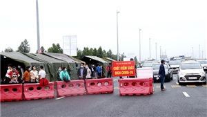 Tạm dừng hoạt động chốt kiểmdịchphương tiện, người ra vào tỉnh Quảng Ninh