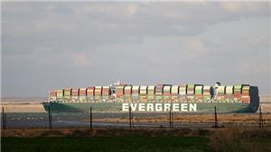 Vụ tàu mắc kẹt ở kênh đào Suez: Giải tỏa hoàn toàn tình trạng ùn tắc